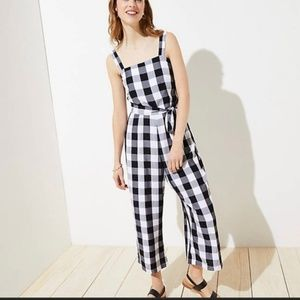 Gingham Jumpsuit (NWT)